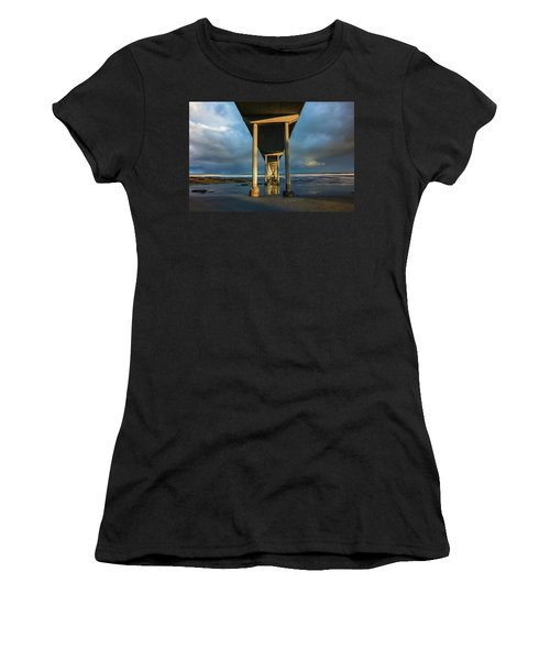 Shadow And Light Women's T-Shirt (Athletic Fit)