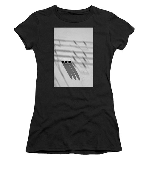 Shadow Notes 2006 1 0f 1 Women's T-Shirt (Athletic Fit)