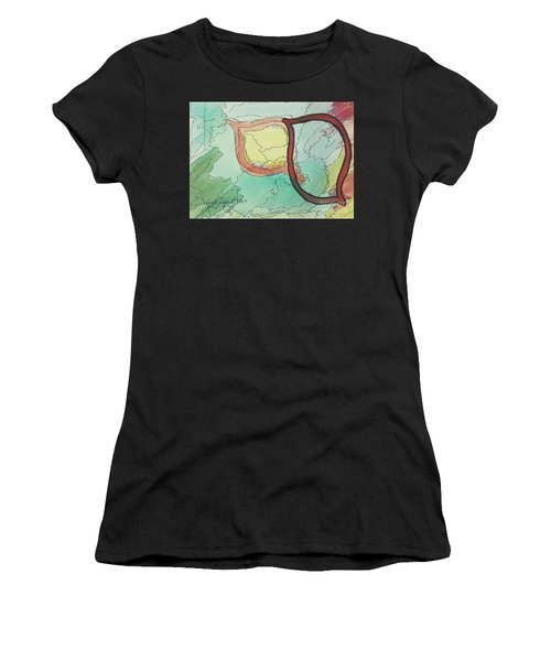 Shadow Yud Women's T-Shirt (Athletic Fit)