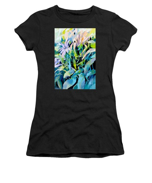 Shadowed Delight Women's T-Shirt (Athletic Fit)