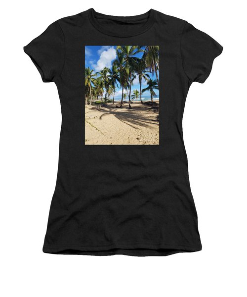 Shady Palm Women's T-Shirt (Athletic Fit)