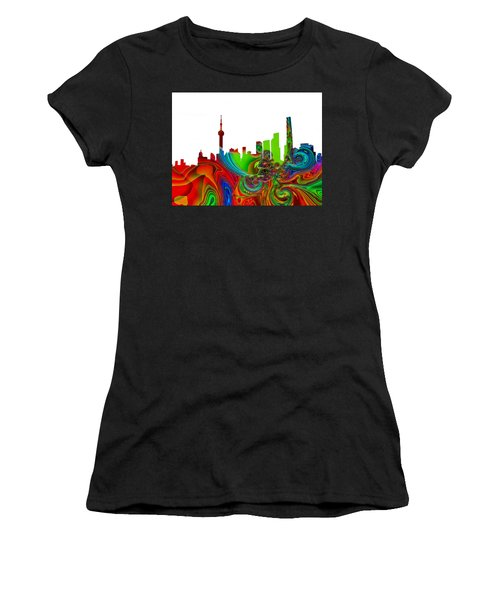 Shanghai  Women's T-Shirt (Athletic Fit)