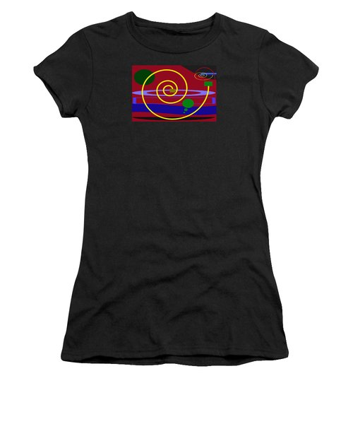 Shapes And Sizes Women's T-Shirt (Junior Cut) by Tina M Wenger