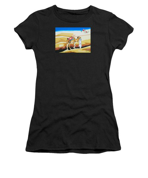 Sharing The Journey Women's T-Shirt (Athletic Fit)