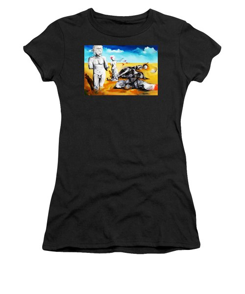Shattered Limbs To Shattered Souls Women's T-Shirt (Athletic Fit)