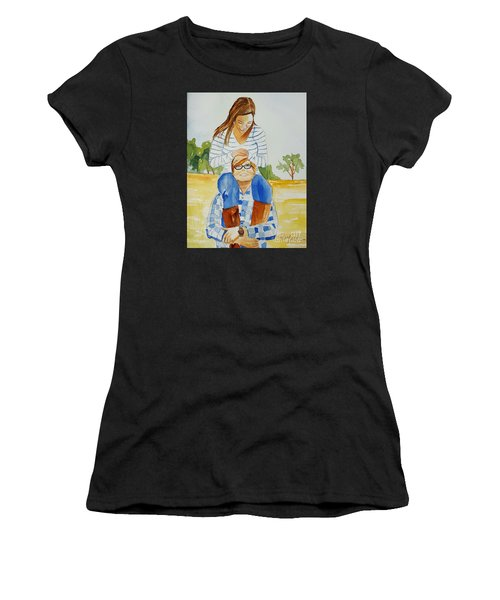 She Said Yes Women's T-Shirt (Athletic Fit)