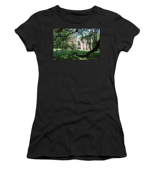 Sheldon Church 2 Women's T-Shirt (Junior Cut) by Gordon Mooneyhan