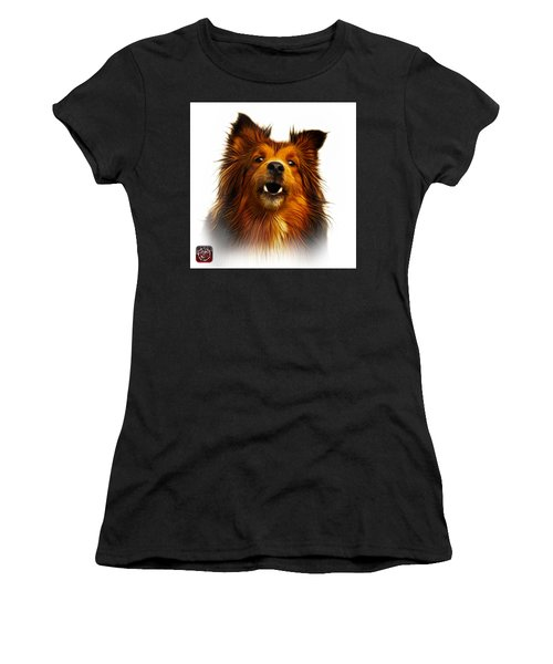 Sheltie Dog Art 0207 - Wb Women's T-Shirt (Athletic Fit)
