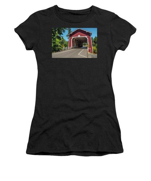 Shimanek Covered Bridge Women's T-Shirt