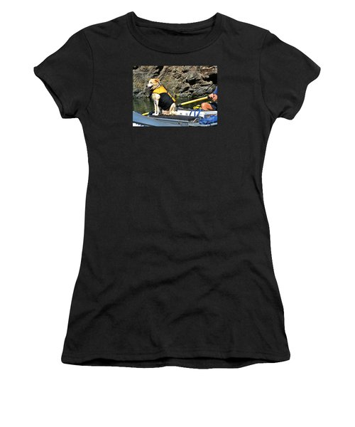Ship, Captain And Crew Women's T-Shirt (Athletic Fit)