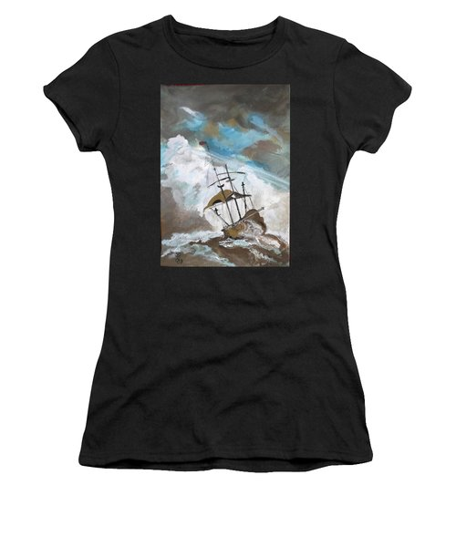 Ship In Need Women's T-Shirt (Athletic Fit)