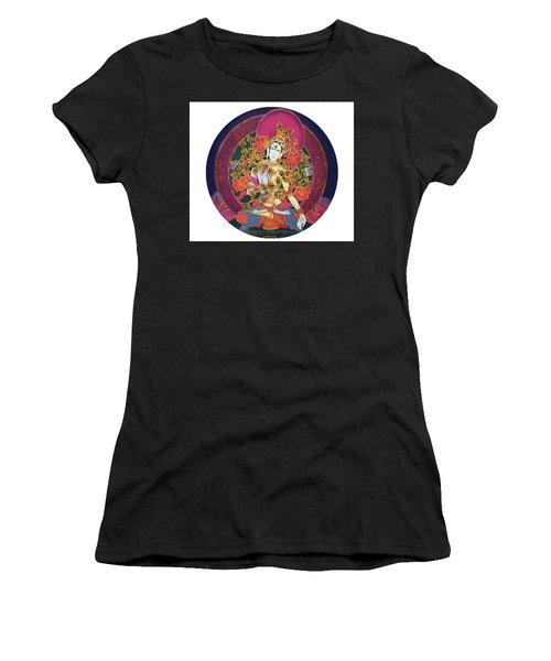 Shiva Shakti Yin And Yang Women's T-Shirt