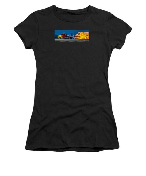 Shock Wave 2836 Women's T-Shirt (Athletic Fit)