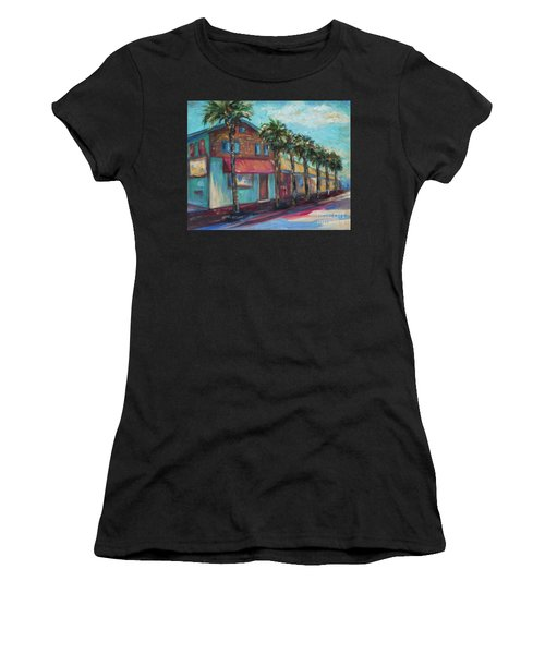 Shorelines And Pete's Women's T-Shirt (Athletic Fit)