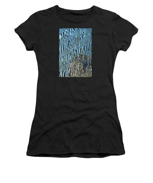 Short Waves Women's T-Shirt (Athletic Fit)