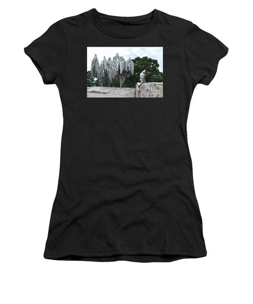 Sibelius Monument Women's T-Shirt (Athletic Fit)