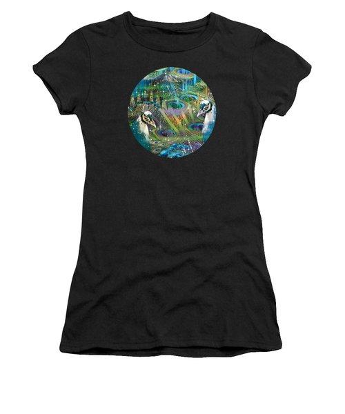Siblings Women's T-Shirt (Junior Cut) by Phil Sadler