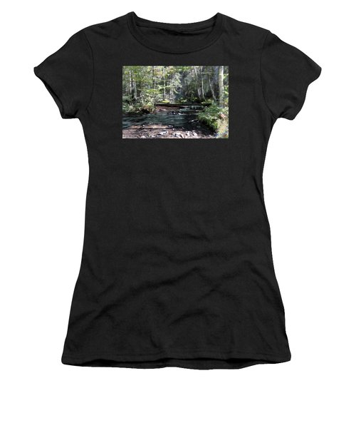Side Brook Women's T-Shirt (Athletic Fit)