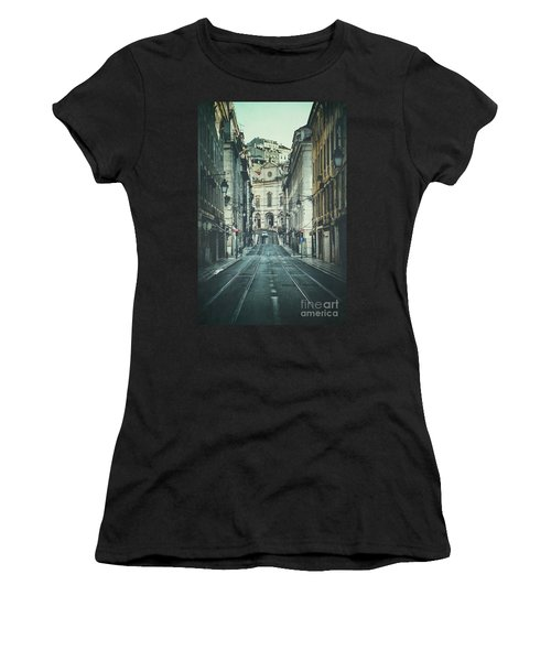 Side Tracked Women's T-Shirt