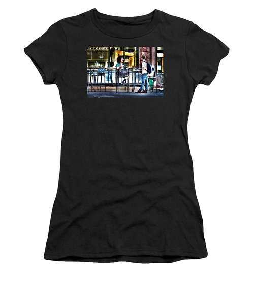 048 - Sidewalk Cafe Women's T-Shirt