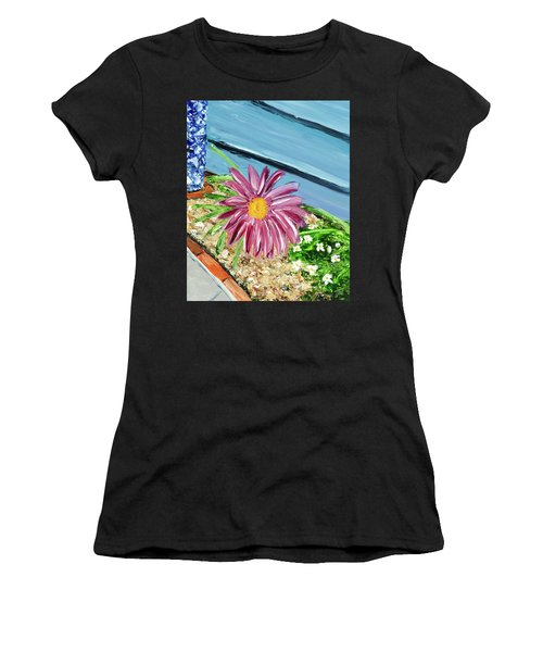 Sidewalk View Women's T-Shirt (Athletic Fit)