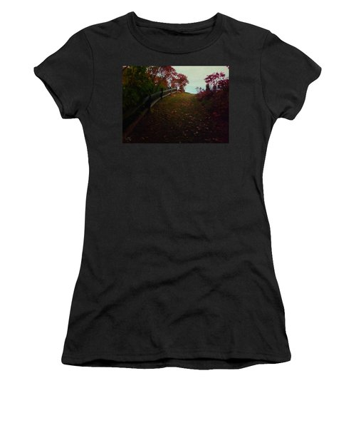 Siena In The Fall Women's T-Shirt (Athletic Fit)