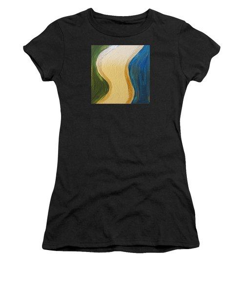 Sierra Leone Coastline - Freetown - Sierra Leone  Women's T-Shirt (Athletic Fit)