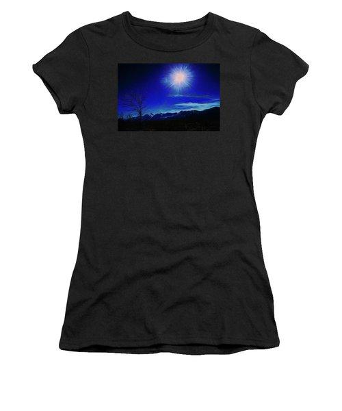 Sierra Night Women's T-Shirt (Athletic Fit)