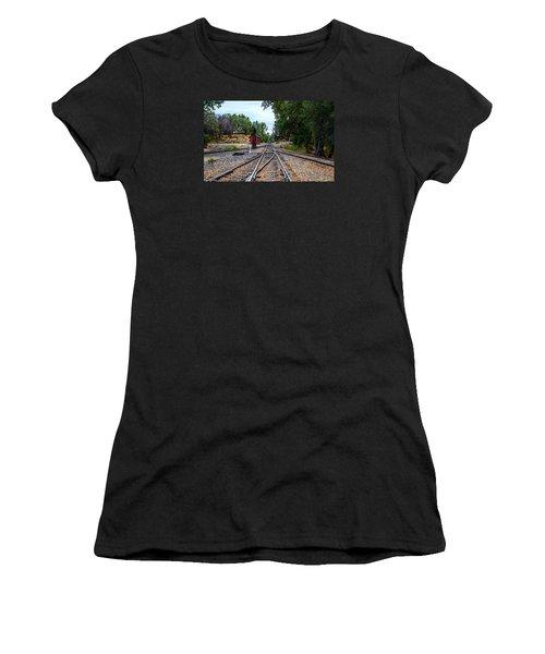 Sierra Railway Women's T-Shirt (Athletic Fit)