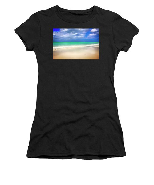 Siesta Key Beach Florida  Women's T-Shirt (Athletic Fit)