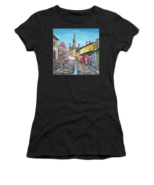 Sighisoara Draculas Home Women's T-Shirt