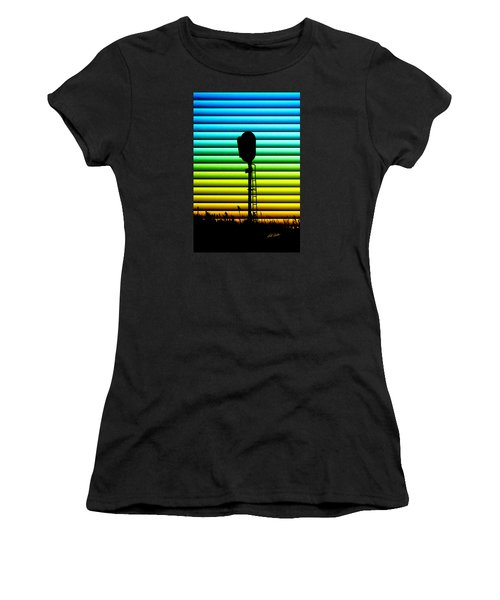 Signal At Dusk Women's T-Shirt (Athletic Fit)