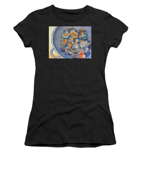 Silence Of The Clams Women's T-Shirt (Athletic Fit)