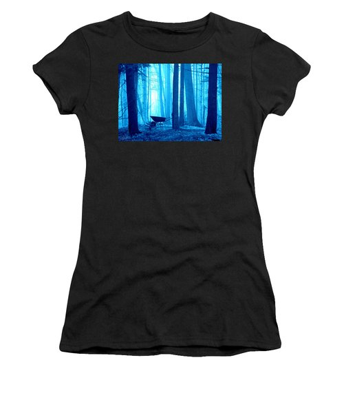 Silent Forest Women's T-Shirt (Athletic Fit)