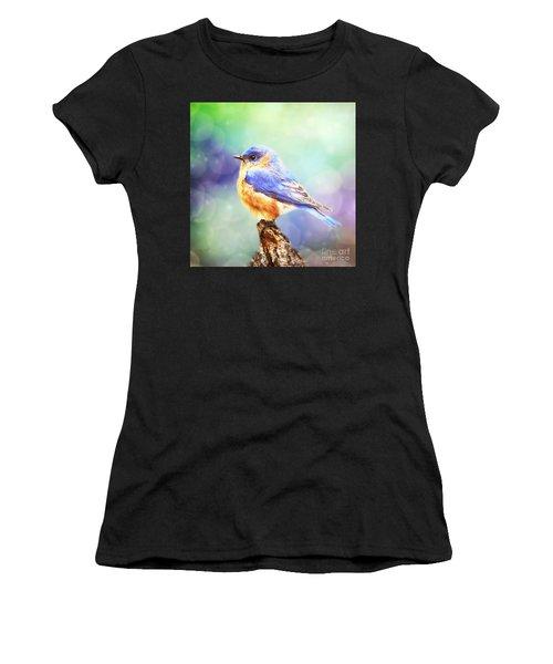 Silent Reverie Women's T-Shirt (Athletic Fit)