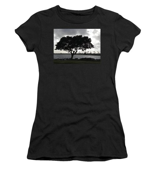 Silhouette Of Tree Women's T-Shirt