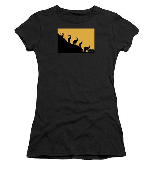 Silhouette Sunrise Women's T-Shirt (Athletic Fit)