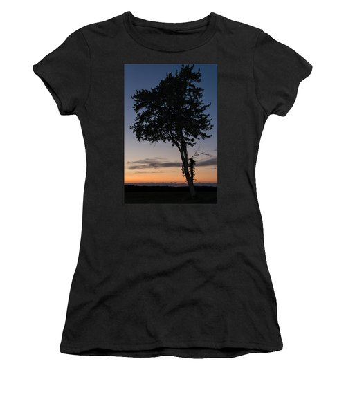 Silhouetted Tree Women's T-Shirt