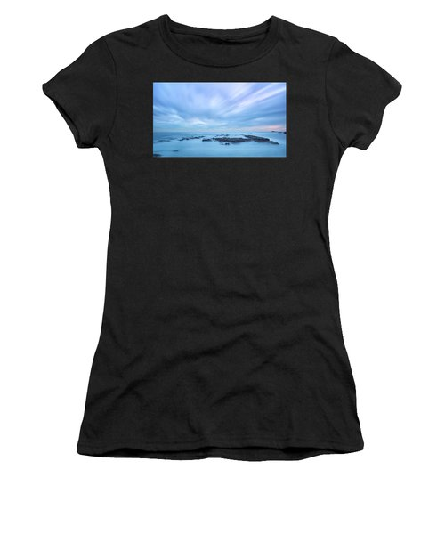 Women's T-Shirt featuring the photograph Silk Water 2 by Bruno Rosa