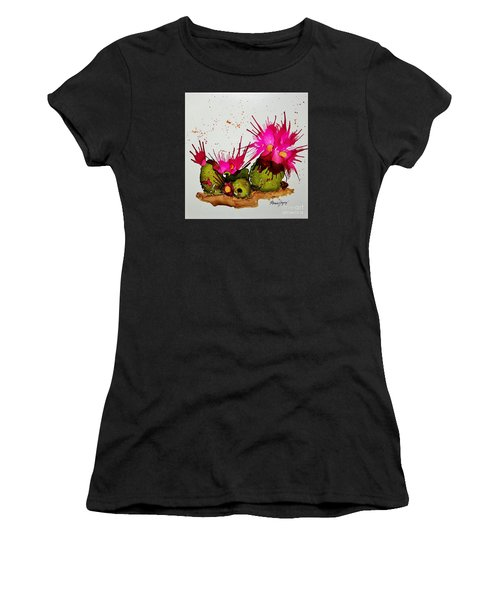 Silly Cactus Women's T-Shirt (Athletic Fit)