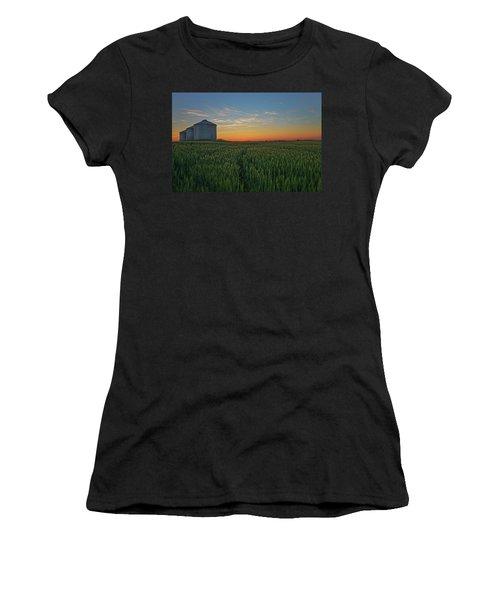 Silos At Sunset Women's T-Shirt