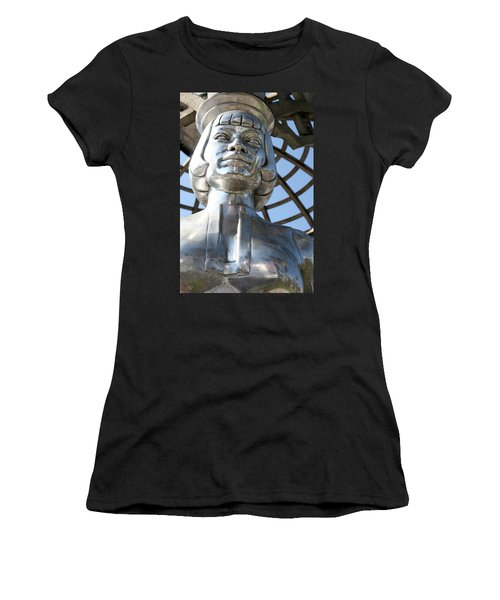 Silver Anna May Wong Women's T-Shirt (Athletic Fit)