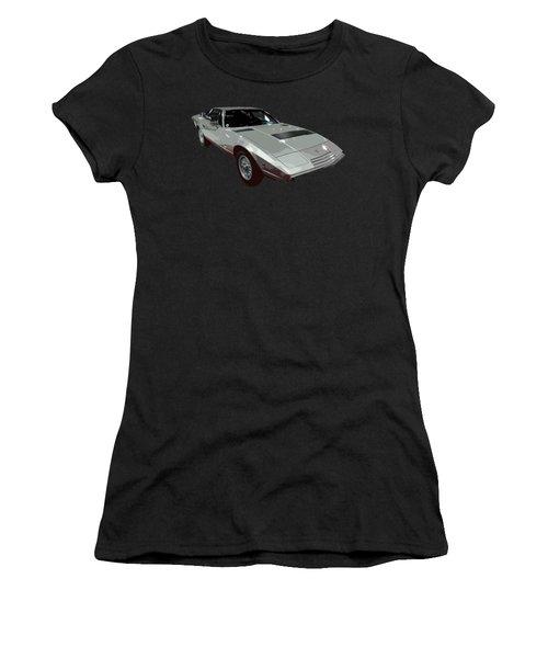 Silver Classic Sport Art Women's T-Shirt (Athletic Fit)