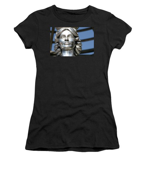 Silver Dorothy Dandridge Women's T-Shirt (Athletic Fit)