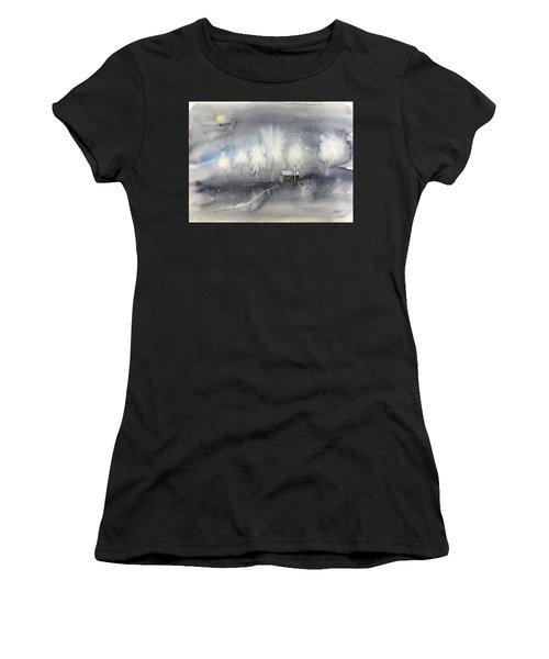 Silver Night Women's T-Shirt