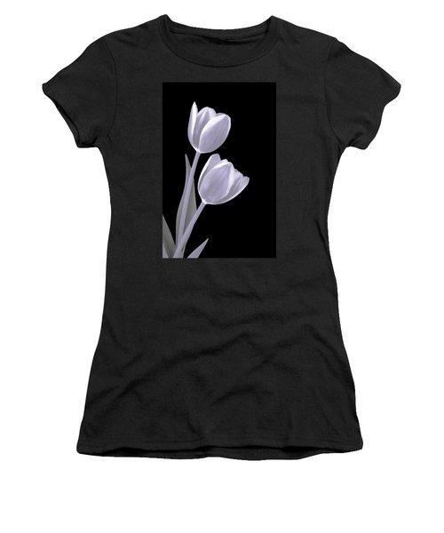 Silver Tulips Women's T-Shirt
