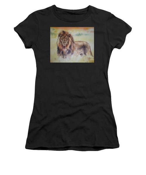 Simba Women's T-Shirt (Athletic Fit)