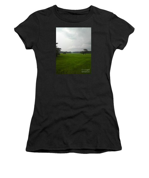 Simple Green Women's T-Shirt (Athletic Fit)