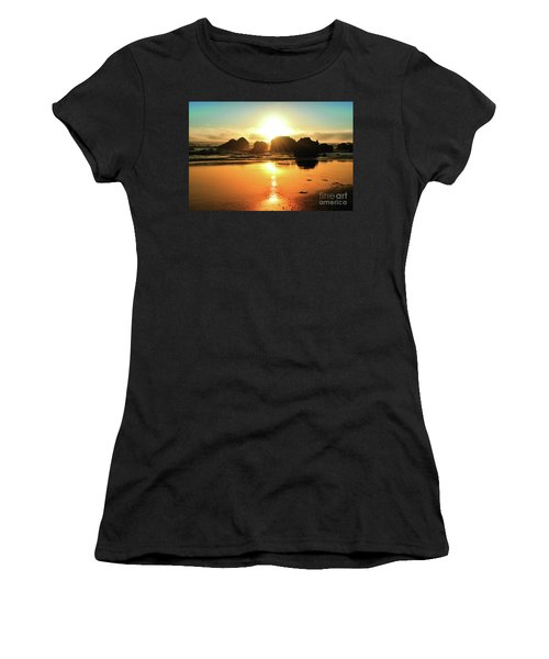 Simple Sunset Women's T-Shirt (Athletic Fit)