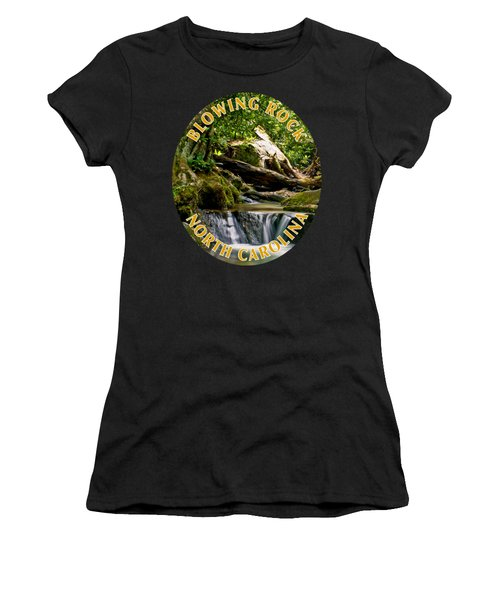 Sims Creek Waterfall T-shirt Women's T-Shirt (Athletic Fit)